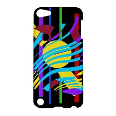 Colorful abstract art Apple iPod Touch 5 Hardshell Case