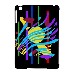Colorful abstract art Apple iPad Mini Hardshell Case (Compatible with Smart Cover)