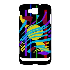 Colorful abstract art Samsung Ativ S i8750 Hardshell Case