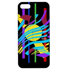 Colorful abstract art Apple iPhone 5 Hardshell Case with Stand