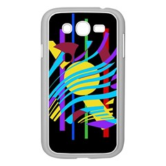 Colorful abstract art Samsung Galaxy Grand DUOS I9082 Case (White)