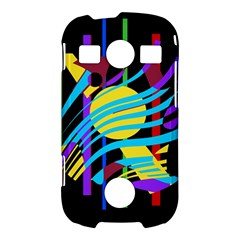 Colorful abstract art Samsung Galaxy S7710 Xcover 2 Hardshell Case