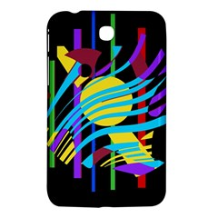 Colorful abstract art Samsung Galaxy Tab 3 (7 ) P3200 Hardshell Case