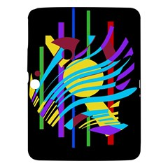 Colorful abstract art Samsung Galaxy Tab 3 (10.1 ) P5200 Hardshell Case