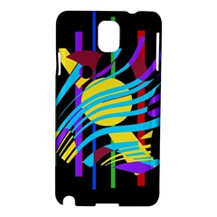 Colorful abstract art Samsung Galaxy Note 3 N9005 Hardshell Case