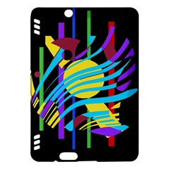 Colorful abstract art Kindle Fire HDX Hardshell Case