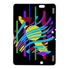 Colorful abstract art Kindle Fire HDX 8.9  Hardshell Case