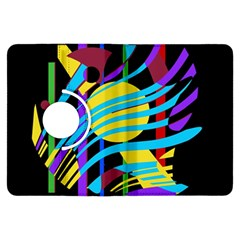 Colorful abstract art Kindle Fire HDX Flip 360 Case