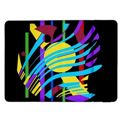 Colorful abstract art Samsung Galaxy Tab Pro 12.2  Flip Case