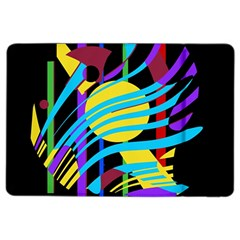 Colorful abstract art iPad Air 2 Flip
