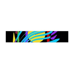 Colorful abstract art Flano Scarf (Mini)