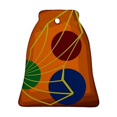 Orange abstraction Ornament (Bell)
