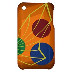 Orange abstraction Apple iPhone 3G/3GS Hardshell Case