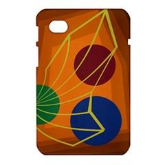 Orange abstraction Samsung Galaxy Tab 7  P1000 Hardshell Case