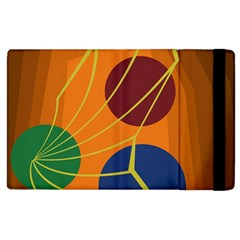 Orange abstraction Apple iPad 3/4 Flip Case
