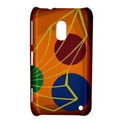 Orange abstraction Nokia Lumia 620