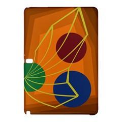 Orange abstraction Samsung Galaxy Tab Pro 10.1 Hardshell Case