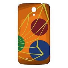 Orange abstraction Samsung Galaxy Mega I9200 Hardshell Back Case