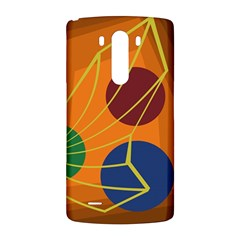 Orange abstraction LG G3 Back Case