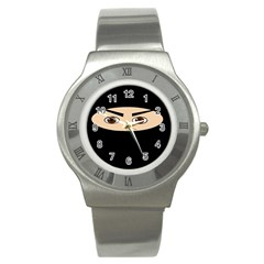 Ninja Stainless Steel Watch