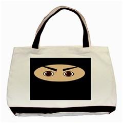 Ninja Basic Tote Bag (Two Sides)