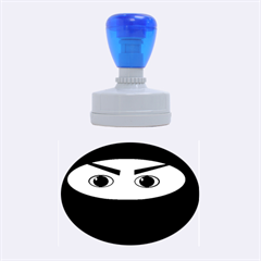 Ninja Rubber Oval Stamps