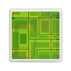 Green pattern Memory Card Reader (Square)
