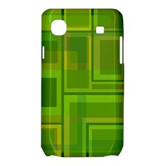 Green pattern Samsung Galaxy SL i9003 Hardshell Case