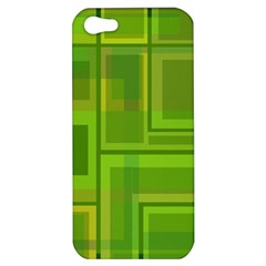 Green pattern Apple iPhone 5 Hardshell Case