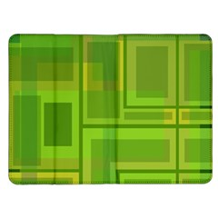 Green pattern Kindle Fire (1st Gen) Flip Case