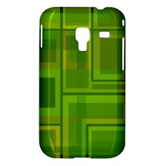 Green pattern Samsung Galaxy Ace Plus S7500 Hardshell Case