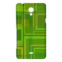 Green pattern Sony Xperia T