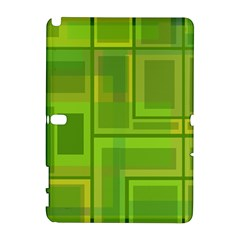 Green pattern Samsung Galaxy Note 10.1 (P600) Hardshell Case