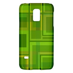 Green pattern Galaxy S5 Mini