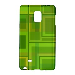 Green pattern Galaxy Note Edge