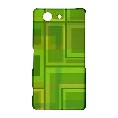 Green pattern Sony Xperia Z3 Compact