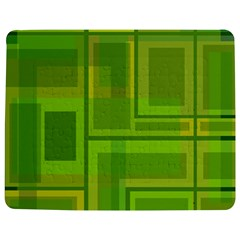 Green pattern Jigsaw Puzzle Photo Stand (Rectangular)