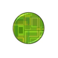 Green pattern Hat Clip Ball Marker