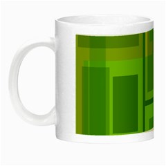 Green pattern Night Luminous Mugs