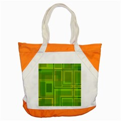 Green pattern Accent Tote Bag