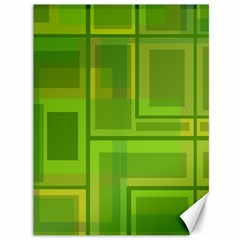 Green pattern Canvas 36  x 48