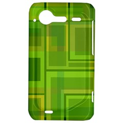 Green pattern HTC Incredible S Hardshell Case