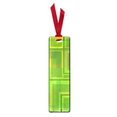 Green pattern Small Book Marks
