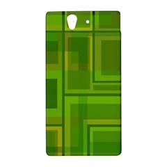 Green pattern Sony Xperia Z