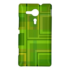 Green pattern Sony Xperia SP