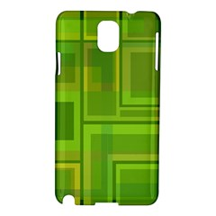 Green pattern Samsung Galaxy Note 3 N9005 Hardshell Case