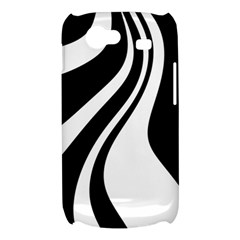 Black and white pattern Samsung Galaxy Nexus S i9020 Hardshell Case