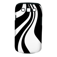 Black and white pattern Samsung Galaxy S III Classic Hardshell Case (PC+Silicone)
