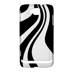 Black and white pattern Samsung Ativ S i8750 Hardshell Case