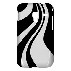Black and white pattern Samsung Galaxy Ace Plus S7500 Hardshell Case
